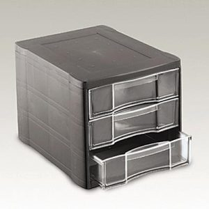 Rubbermaid vision 3 drawer desk supplies organizer - Rubbermaid desk organizer ...