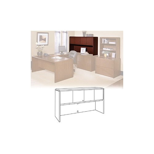 national office furniture arrowood 2100 series hutch nof211572osccw