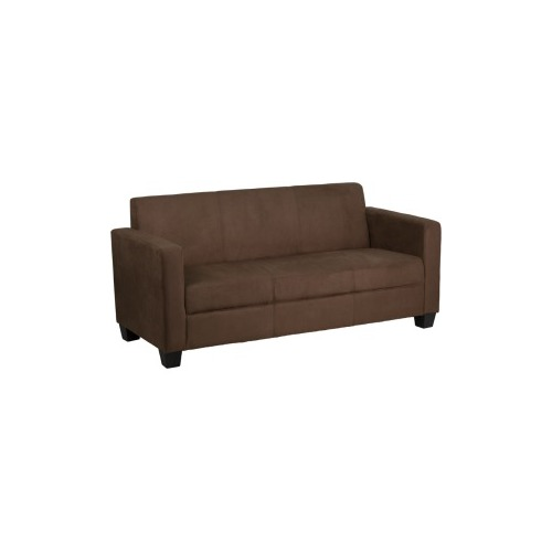 Flash Furniture Brown Microfiber Sofa